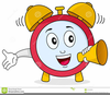 Animated Alarm Clock Clipart Image