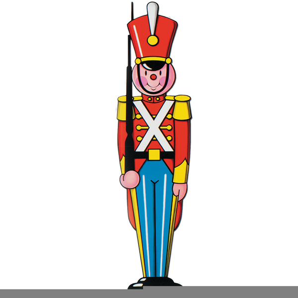 Free Christmas Toy Soldier Clipart