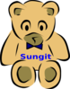Daddy Bear Sungit Clip Art