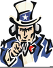 Uncle Sam Wants You Clipart Image
