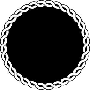 Black Rope Seal Border Clip Art at Clker.com - vector clip ...