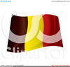 Flag Waving Clipart Image