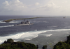 The Guided Missile Cruiser Uss Chancellorsville (cg 62) Enters Apra Harbor, Guam. Image