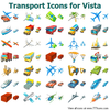 Transport Icons For Vista Image