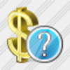 Icon Dollar Question Image