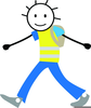 Free Clipart Road Safety Image