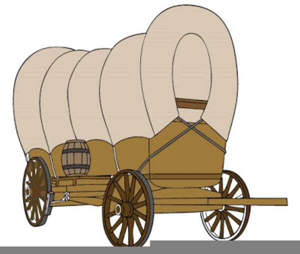 pioneer covered wagon clipart free images at clker com vector rh clker com Pioneer Wagon Drawing pioneer wagon clipart