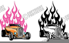 Hot Rod Clipart Image