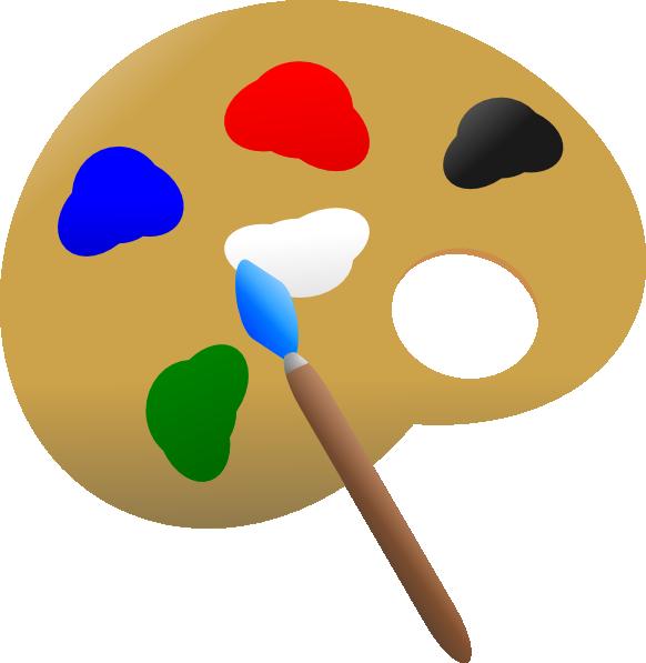 Paint Palette Clip Art at Clker.com - vector clip art ...