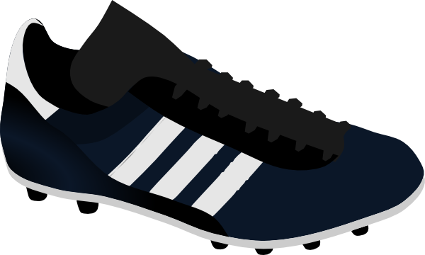Soccer Shoe Clip Art at Clker.com - vector clip art online ...