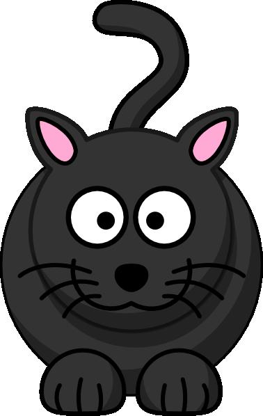 black cat small eyes clip art at clkercom vector clip