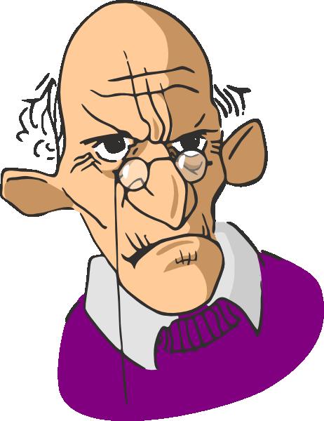 Old Man Cartoon Clip Art At Clker Com Vector Clip Art