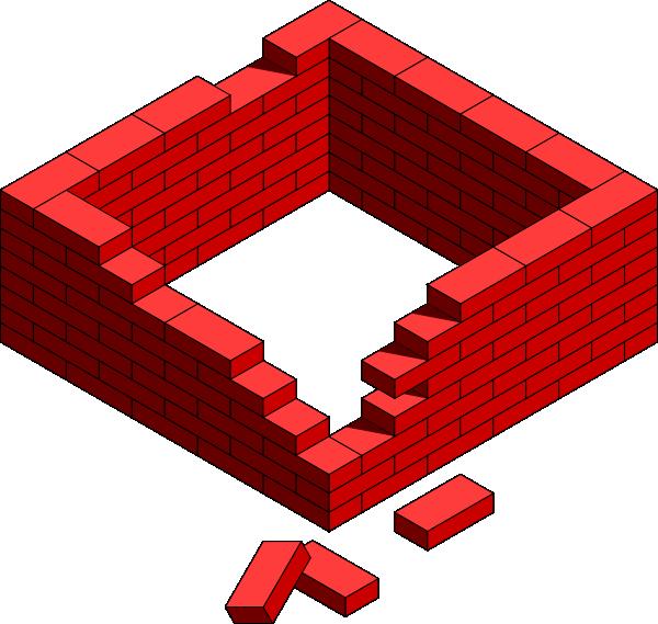 Built Up Walls Clip Art at Clker.com - vector clip art online ...