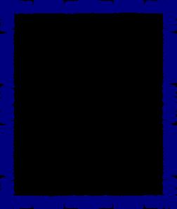 Blue Border Design Clip Art At Clker Com Vector Clip Art