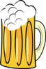 Beer Mug Froth Clip Art