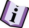 Purple Book Clip Art