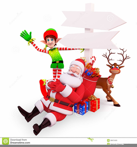 Santa sleeping. Clipart free images at