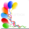Ballons Clipart Image