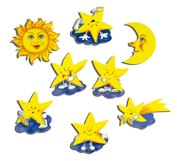 clipart mond und sterne  free images at clker
