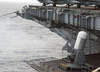 An Close-in Weapons System (ciws) Is Being Fired For Training Aboard The Nuclear Powered Aircraft Carrier Uss George Washington (cvn 73). Image