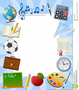 Back To School Frame Clipart Free Images At Clkercom Vector