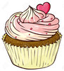 Illustration Of An Isolated Cupcake Stock Vector Cupcakes Cupcake Cartoon Image