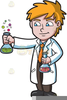 Chemical Reaction Clipart Image