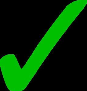 Transparent Green Checkmark Clip Art at Clker.com - vector clip art online,  royalty free & public domain