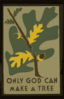 Only God Can Make A Tree  Clip Art