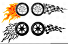Racing Flame Clipart Free Image
