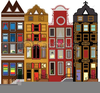Drawings Of Houses Clipart Image