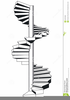 Spiral Staircase Clipart Image