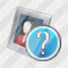 Icon Photo Frame Question Image