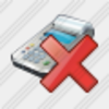 Icon Cash Register Delete Image