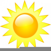 Free Clipart Hot Weather Image