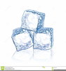 Ice Cubes Clipart Image