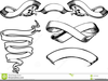 Scroll Header Clipart Image