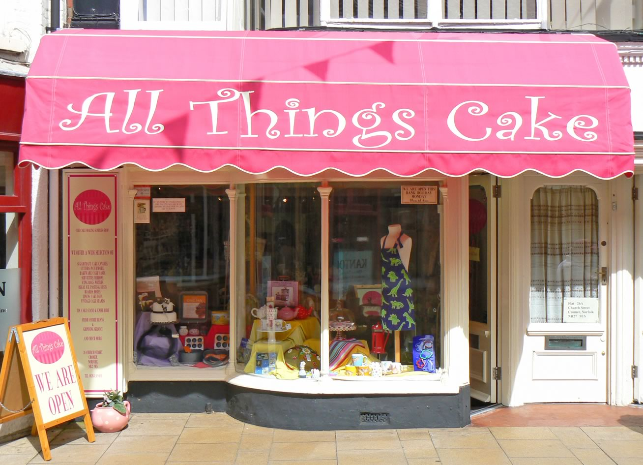 Cake Store Storefront S