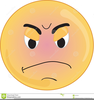 Faces Anger Happy Sad Clipart Image
