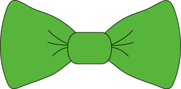 Green Bow Tie Free Images At Clker Com Vector Clip Art