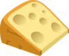 Fancy Cheese Clip Art
