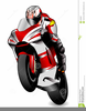 Cartoon Biker Clipart Image