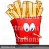 Free Clipart French Fries Image