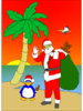 Beached Santa Image