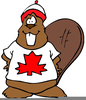 Animated Canadian Flag Clipart Image