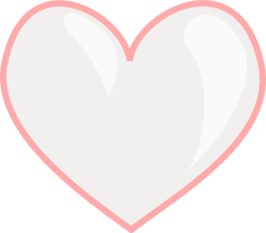 Pink Heart Clip Art At Clker Com Vector Clip Art Online Royalty