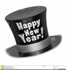 New Years Top Hat Clipart Image