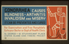 Gonorrhea Causes Blindness - Arthritis, Invalidism And Misery It Can Be Prevented And Cured : For Examination And Free Pamphlets Go To Your Doctor Or Dept. Of Health Clinic. Image