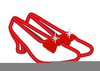 Dorothys Ruby Slippers Free Clipart Image