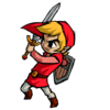 Link Zelda Red Mini Image